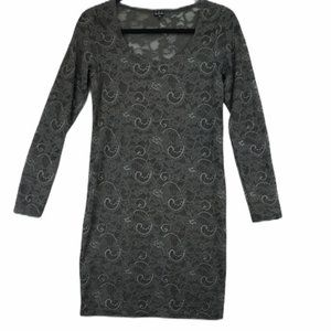 Talula Aritzia Lace Bodycon Long Sleeve Dress